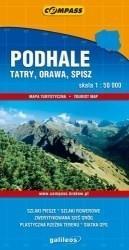 Compass Podhale Tatry Orawa Spisz mapa 1:50 000 Compass