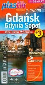 Demart Gdańsk Gdynia Sopot - mapa (skala 1:26000) - Praca zbiorowa