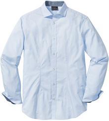 Bonprix Koszula Slim Fit jasnoniebieski