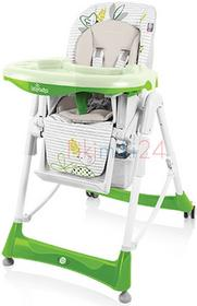 Baby Design BABY DESIGN Krzesełko do karmienia BAMBI 04 zielony 7120