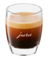 Jura Szklaneczka do espresso z logo zestaw 2 sztuki 3442-uniw