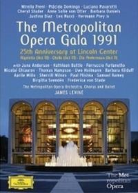 The Metropolitan Opera Orchestra Metropolitan Opera Gala 1991 25th Anniversary at Lincoln Center DVD)