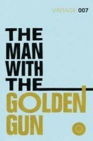 Vintage Man with the Golden Gun