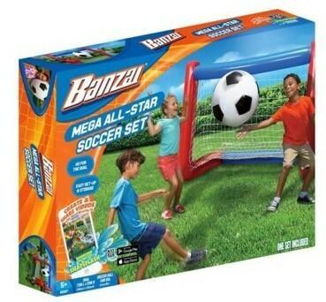 Banzai Mega All-Star zestaw do gry w piłkę nożną 00327