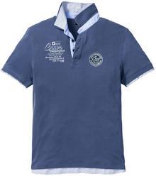 Bonprix Shirt polo Regular Fit indygo
