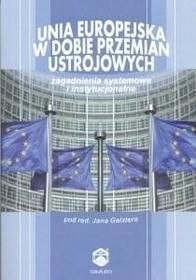 TNOiK  Towarzystwo Naukowe Organizacji i Kierowani Unia Europejska w dobie przemian ustrojowych