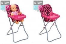Play To, krzesełko dla lalek Dorotka