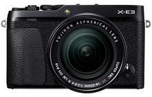 Fuji X-E3 + XF 18-55 R LM OIS czarny