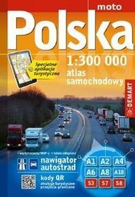 Demart Atlas Polska 1:300 000 - Demart
