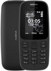Nokia 105 2017 Dual Sim Czarny