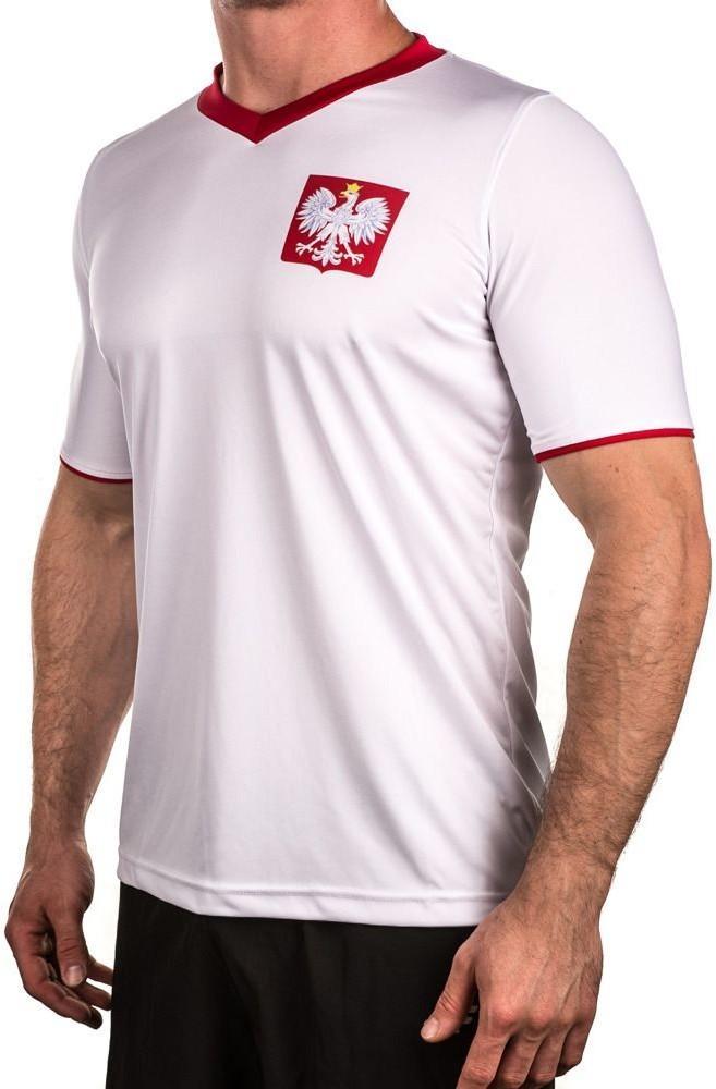 Rotex Rotex Koszulka kibica Polska Rotex biały roz M 318842) 318842