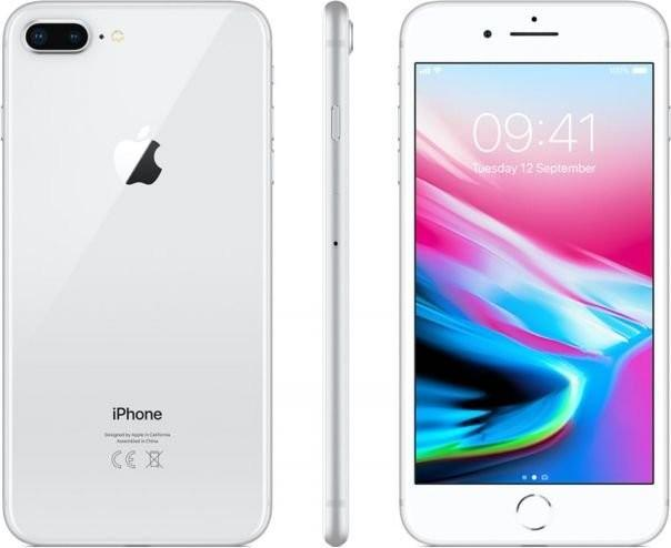 Apple iPhone 8 Plus 256GB Srebrny