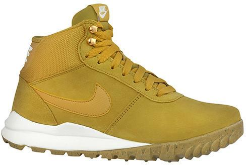 "Nike Buty Hoodland Suede ""Light Brown-Metallic Gold"" (654888-727)"