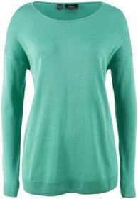 Bonprix Sweter zielony szałwiowy