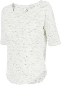 4F T-shirt damski TSD221z biały [D4Z17-TSD221] TSD221 biały