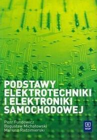 Podst. elektrotech.i elektron. samochodowej WSiP - dostępny od ręki, wysyłka od 2,99