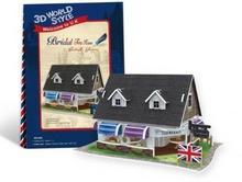 Cubicfun PUZZLE 3D Domki świata Wielka Brytania Tea House 491977