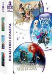 GALAPAGOS Bohaterki Disneya Kolekcja Zaplątani Merida Waleczna Kraina Lodu) DVD) Różni