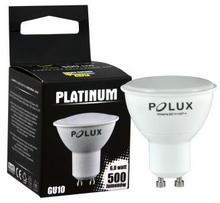 Polux Żarówki LED GU10 230V 3000K 6W 500lm 5901508303264