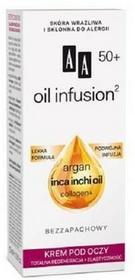 Oceanic Oil Infusion Argan Inca Inchi Oil 50+ Eye Cream krem pod oczy totalna regeneracja + elastyczność 15ml 44849-uniw