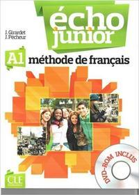 Echo Junior A1 podręcznik + DVD - Girardet J., Pecheur J.