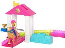 Barbie On The Go Zestaw Wyścig Kucyków z lalką  - ekspresowa wysyłka i bezpieczeństwo zakupów  21 dni na zwrot.