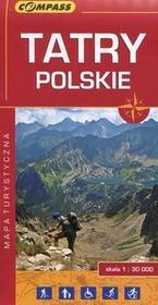Wydawnictwo Compass  Tatry Polskie. Mapa turystyczna w skali 1:30000