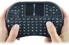 Klawiatura bezprzewodowa + touchpad Mini Key - czarna KAP-03851