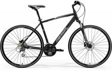 Merida CROSSWAY 20-D 2018 MATT BLACK WHITE GREY