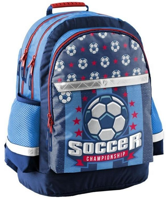 bc3b57682a6ee Paso Plecak Szkolny 17-116P Piłka Nożna Soccer 5903162046792 - Ceny i opinie  na Skapiec.pl