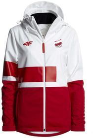 4F Softshell damski Polska Pyeongchang 2018 SFD900R biały [S4Z17-SFD900R] SFD900R biały
