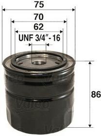 VALEO Filtr oleju 586029