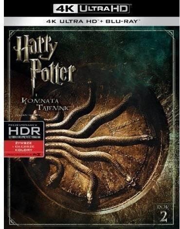 Warner Bros Entertainment HARRY POTTER I KOMNATA TAJEMNIC 2BD 4K) Płyta BluRay)