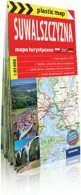 ExpressMap praca zbiorowa plastic! map Suwalszczyzna. Foliowana mapa turystyczna 1:85 000