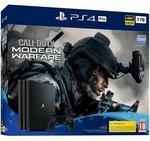 Sony PlayStation 4 Pro 1TB Czarny + Call of Duty Modern Warfare