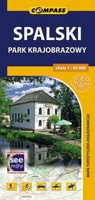 Wydawnictwo Compass Spalski park krajobrazowy - mapa turystyczna (skala 1:50 000) - Praca zbiorowa