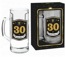 BGtech Kufel do piwa 500ml Gold 30 urodziny 332-00/OP-061-008/PL-4975