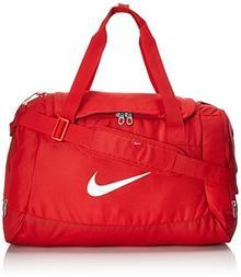 Team Męska torba sportowa Club Swoosh Duffel od Nike, czerwony BA5194-657