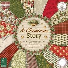 Świąteczny papier A Christmas Story 30,5x30,5 cm