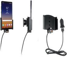 Brodit AB Uchwyt do Samsung Galaxy Note 8 z wbudowanym kablem USB oraz ładowarką samochodową 521999