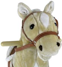 KinderSafe Konik bujany Koń na biegunach Biszkopt KINDERSAFE HM-205 s-588-uniw
