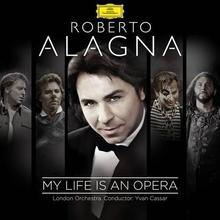 Puccini Tchaikovski Gluck i inni My Life Is An Opera Alagna) CD) Roberto Alagna