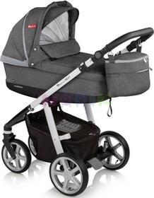 Baby Design Wózek wielofunkcyjny 3w1 Next + Leo Espiro stylish graphite