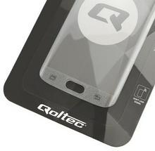 Qoltec Hartowane szkło ochronne Premium do Samsung Galaxy S7 edge | Pełne | złote 51334