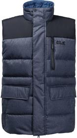 Jack Wolfskin Kamizelka puchowa BAFFIN BAY VEST MEN night blue 1202281-1010
