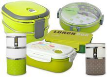 Promis Pojemnik na żywność TM123 ~trzykomory~4 kolory do wyboru ~ TM123