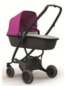 Quinny Wózek głęboko-spacerowy 2w1 Zapp Flex Plus różowo/grafitowy