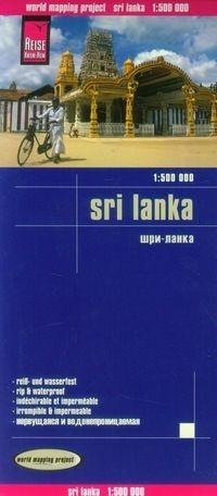 Sri Lanka Mapa 1:500 000 - Reise Know-How Verlag