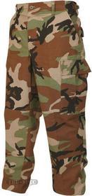 Tru-Spec Spodnie BDU Military Cotton Ripstop, wykonane zgodnie z wojskową specyfikacją US Army MIL-44047E, uniseks, materiał 100% Cotton, długie, kolor woodland - 1505.007WD LX2REG 690104030562