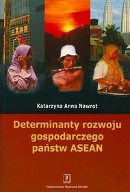 Determinanty rozwoju gospodarczego Państw - Katarzyna Nawrot